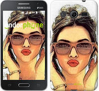 "Чехол на Samsung Galaxy Ace 4 Lite G313h Девушка_арт ""3005u-208"""