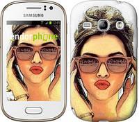 """Чехол на Samsung Galaxy Fame S6810 Девушка_арт """"3005u-254"""""""