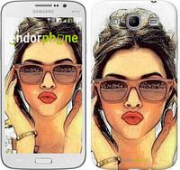 "Чехол на Samsung Galaxy Mega 5.8 I9150 Девушка_арт ""3005u-309"""