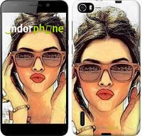 """Чехол на Huawei Honor 6 Девушка_арт """"3005u-175"""""""