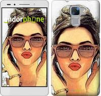 """Чехол на Huawei Honor 7 Девушка_арт """"3005u-138"""""""