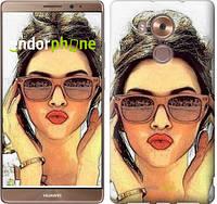 "Чехол на Huawei Mate 8 Девушка_арт ""3005u-269"""