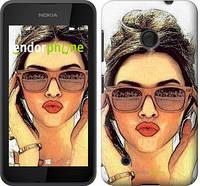 """Чехол на Nokia Lumia 530 Девушка_арт """"3005u-205"""""""