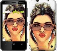 """Чехол на Nokia Lumia 620 Девушка_арт """"3005u-249"""""""