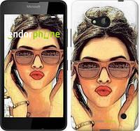 """Чехол на Microsoft Lumia 640 Девушка_арт """"3005c-273"""""""
