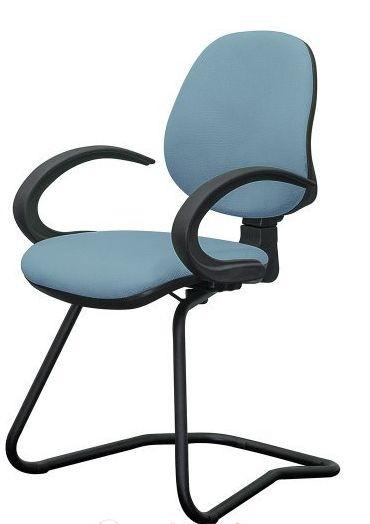 Кресло Поло CF/АМФ-5 Ткань А-79 голубой.