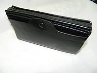 Мужской кожаный клатч для денег и документов