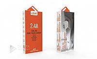 Сетевая зарядка LDNIO A2202 / 2-USB / 2.4А / 12W