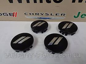 Dodge Charger 2011-17 ковпачки чорні диски в 63mm Нові Оригінал