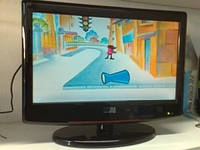 "LCD Телевизор с DVD плеером 15.6"" (USB/CD/DVD)"