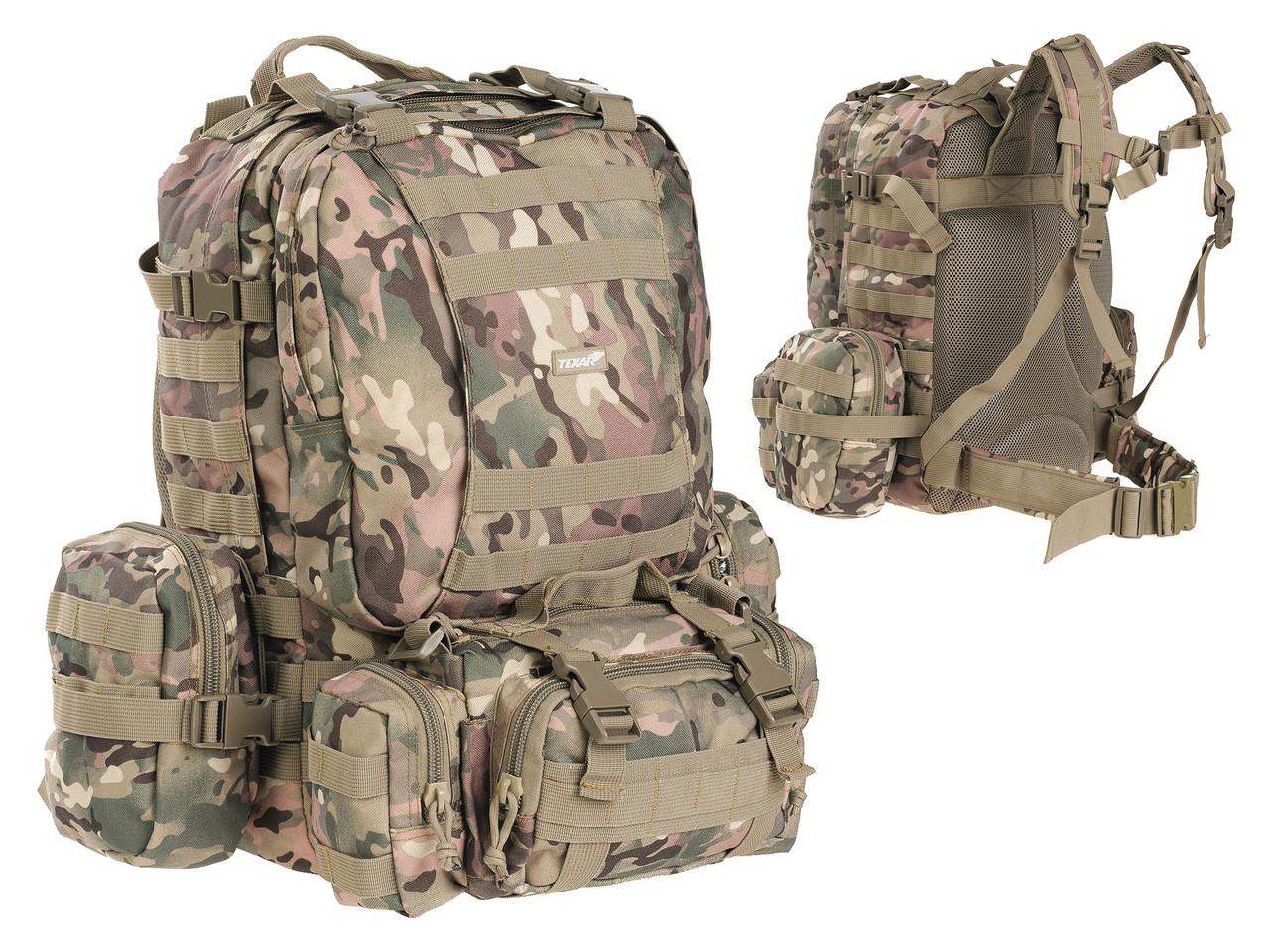 Тактический рюкзак TEXAR CAMPER 60L - MULTICAM