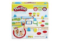 Набор пластилина Play-Doh Shape and Learn Numbers and Counting