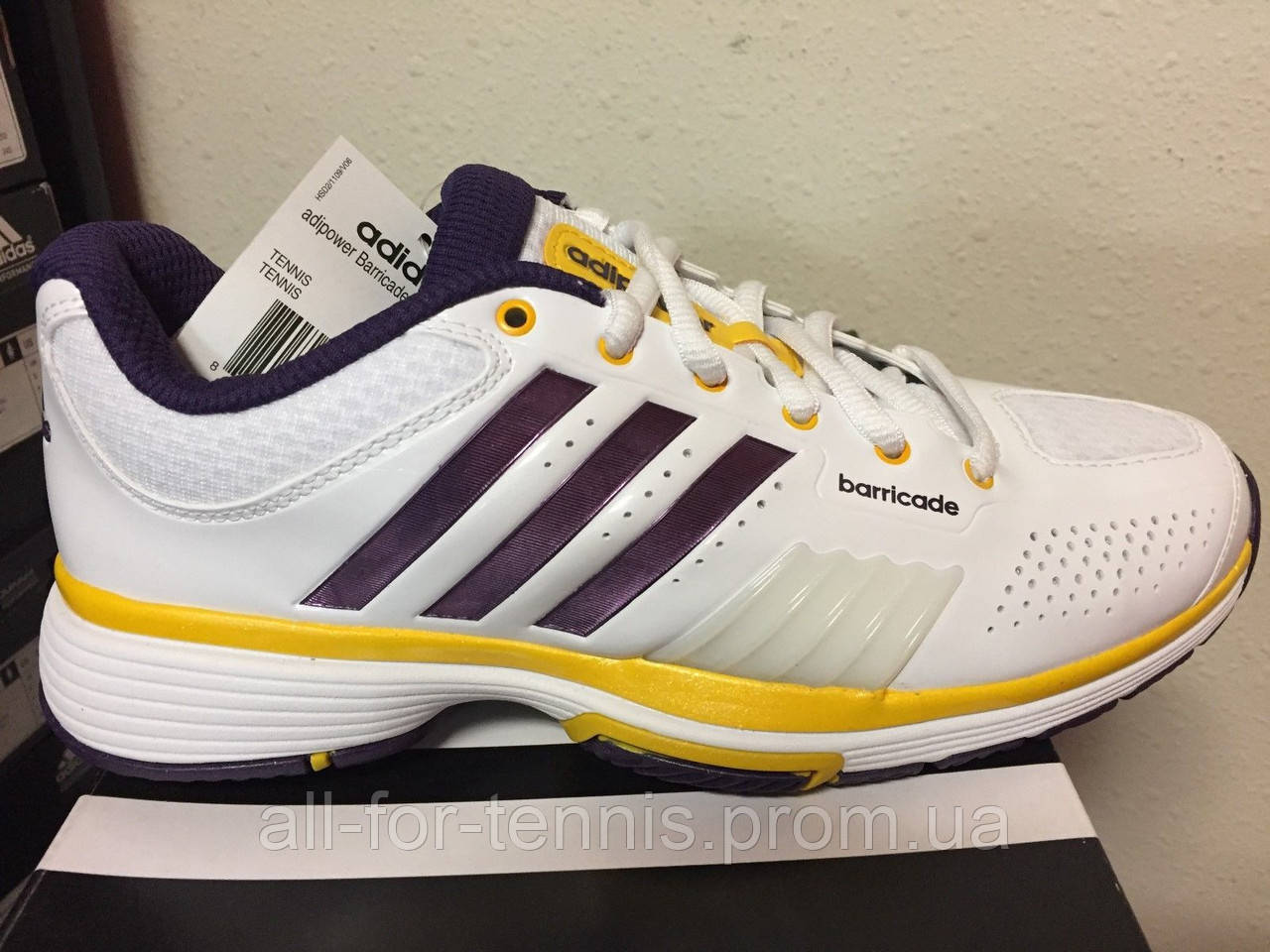 bfca1e37 Кроссовки для тенниса Adidas Womens Adipower Barricade V22331, купить  Украина, цена 3 003 грн., купить в Виннице — Prom.ua (ID#383276715)