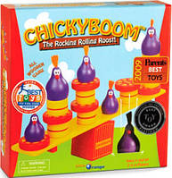 Настольная игра-балансир ChickyBoom (ЧикиБум) из дерева, Blue Orange (904253)