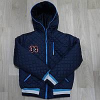 Демисезонная стегая куртка-жилетка для мальчика Kub (4-10 лет)