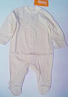 Комбинезон для малышей С длинный рукав. Молочный 56 см 03004001130 КБ4ч Бэмби Украина