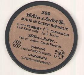 Патроны Флобера Sellier & Bellot 4 мм(обычные)