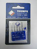 Иглы для бытовой швейной машины Джинс 130/705H №100
