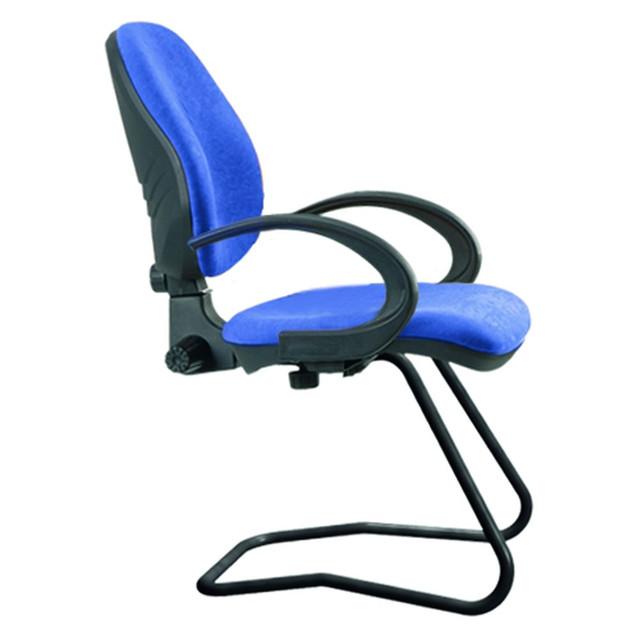 Кресло Поло CF/АМФ-5 Розана-102 синий. Габариты кресла: 65х65х100 см.