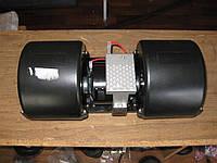 Электродвигатель отопит. 24V с крыльчаткой в корпусе на подшипниках