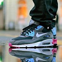 Кроссовки мужские Nike Air Max 90 Grey Blue