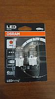 W21/5W Лампочки в стопы OSRAM LED W21/5W 12V 1.5W W3X16Q (T20 DC)  LEDriving Premium красный 7915R-02B