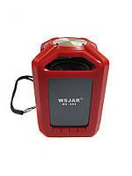 Портативная bluetooth колонка MP3 WSA-608 Red, фото 1