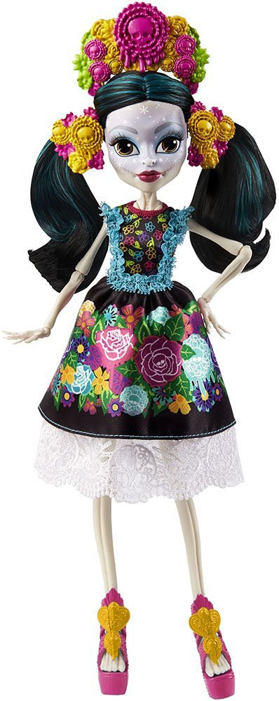 Кукла Монстер Хай Коллекционная Скелита Калаверас Monster High Skelita Calaveras Collector
