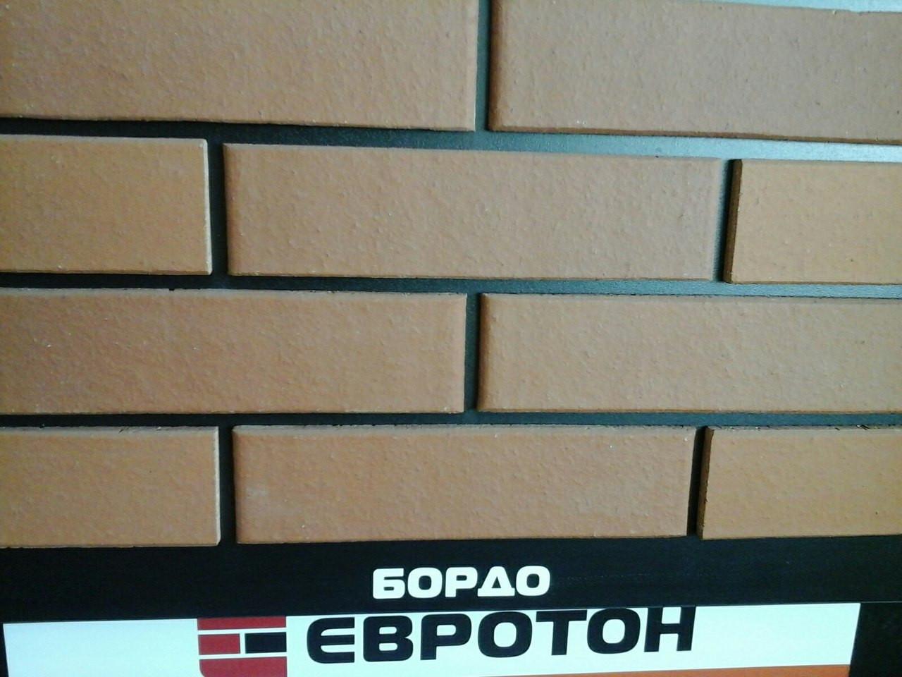"""Кирпич клинкерный облицовочный """"Бордо"""", фото 1"""
