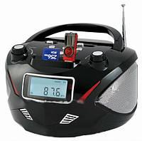 Бумбокс колонка часы MP3 Golon RX 669Q Black