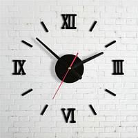 Монтаж бескаркасных 3D-часов диаметром 0,4-0,7 м на стену (инструкция по установке)