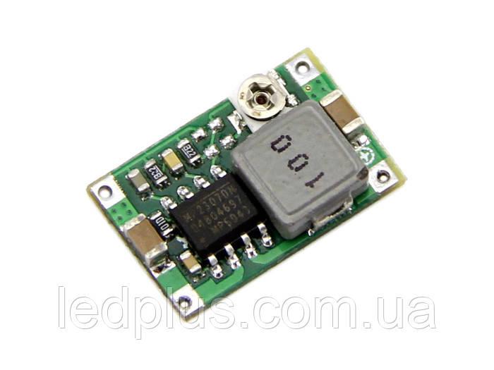 Понижающий стабилизатор напряжения  MP2307 (mini 360) регулируемый