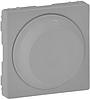 Лицевая панель светорегулятора поворотного для всех типов ламп алюминий 754882 Legrand Valena Life