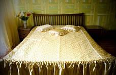 Жаккардовое покрывало с подушками, фото 3