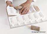 """Набор для мороженого """"танго"""" Silikomart (92х45х27.5 мм, 2 формы, 50 палочек), фото 3"""