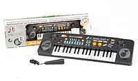 Детский синтезатор пианино MQ-803 USB, с микрофоном и MP3 от сети