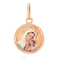 Золотая ладанка Дева Мария и Иисус