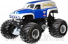 Небольшая потертость! Hot Wheels Monster Jam 1:24 Grave Digger The Legend Металлический внедорожник (США)