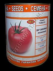 Семена томата «Дар Заволжья розовый» 200 г, инкрустированные (Vitas)