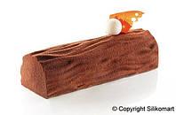 """Коврик силиконовый для декорирования """"дерево"""" Silikomart (250х185 мм, h 6 мм)"""