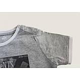 Meet The Dolphins футболка для мальчика серый меланж, фото 2