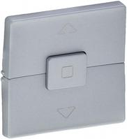 Клавиша выключателя для жалюзи алюминий 755142 Legrand Valena Life