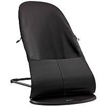 Кресло-шезлонг BabyBjorn Balance Soft Black/Grey+игрушка, фото 2