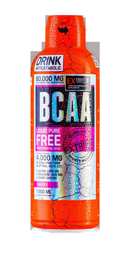 Extrifit BCAA 80.000, 1000 ml