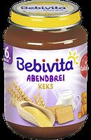 Bebivita Abendbrei Keks ab 6. Monat - Детская вечерняя молочная каша с печеньем с 6 месяцев, 190 г