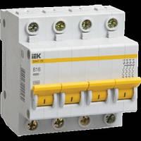 Автоматический выключатель BA47-29 4P 2А 4,5кА х-ка С IEK
