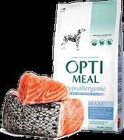 Optimeal (Оптимил) Гипоаллергенный для крупных пород (ЛОСОСЬ) 10 кг