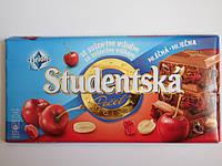 Шоколад Studentska с вишнями 180г