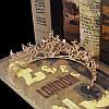 Диадема свадебная Лея, Весiльна дiадема, весiльна бiжутерiя Украшения для волос аксессуары, фото 6