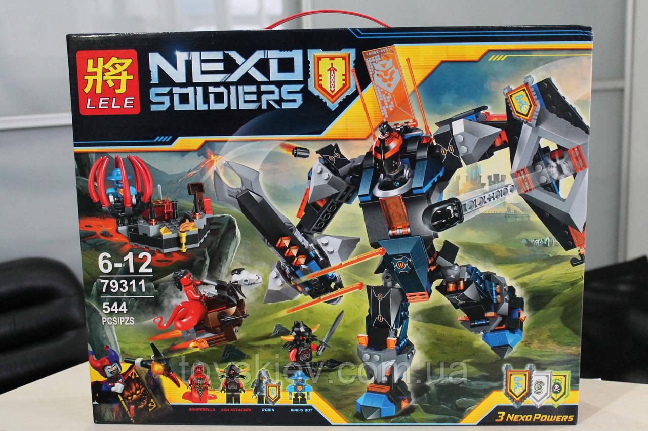 "Конструктор аналог Lego Нексо найтс ""NEXO KNIGHTS"" 79311 ""Черный рыцарь"""